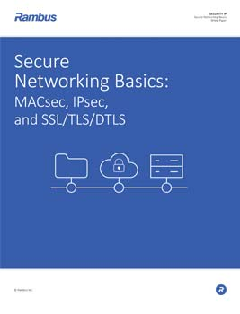 Download Secure Networking Basics: MACsec, IPsec, and SSL/TLS/DTLS