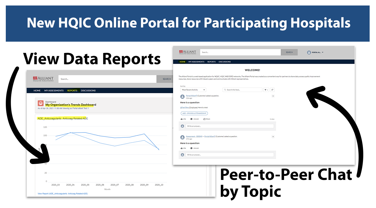 View Data Reports and Peer to Peer Discussions by Topic