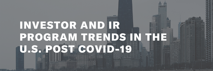 Investor and IR Program Trends