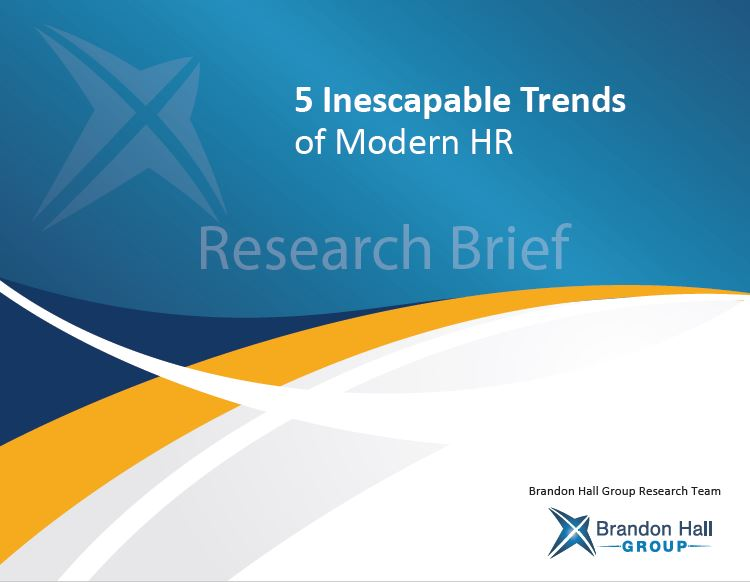 5 Inescapable Trends of Modern HR (2019 Research Brief)