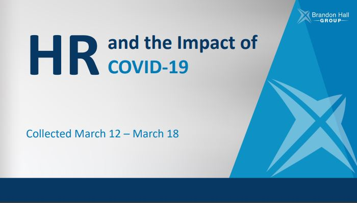 HR and The Impact of COVID-19 (Research Data Highlights)