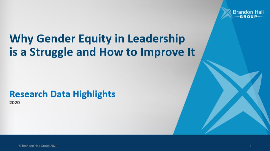 Why Gender Equity in Leadership is a Struggle and How to Improve It (Research Data Highlights)