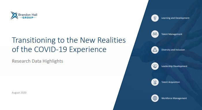 Transition to the New Realities of the COVID-19 Experience (Research Data Highlights)