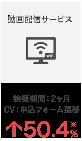 Evolv実績1:動画配信サービス