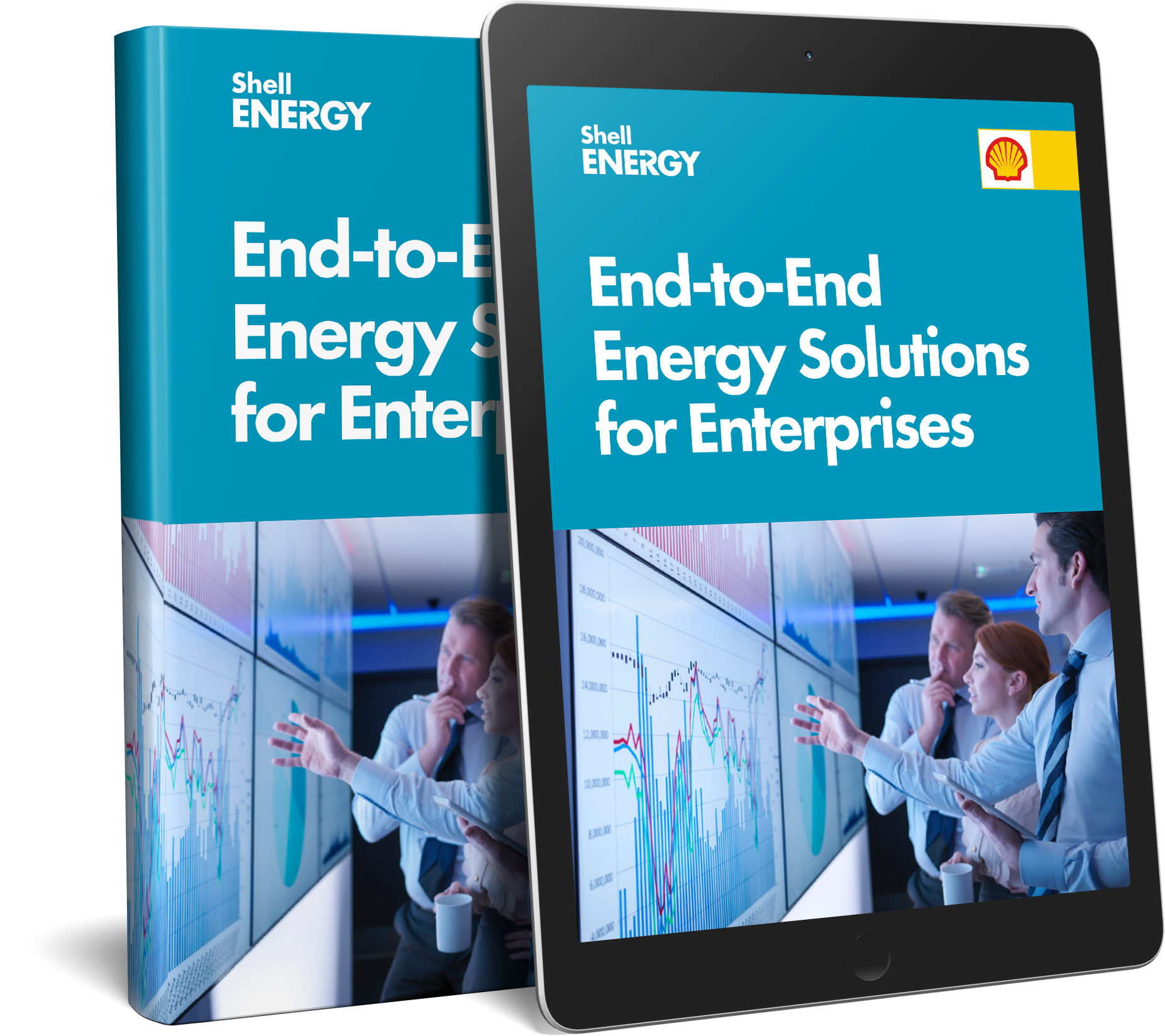 end-to-end energy solutions eBook display