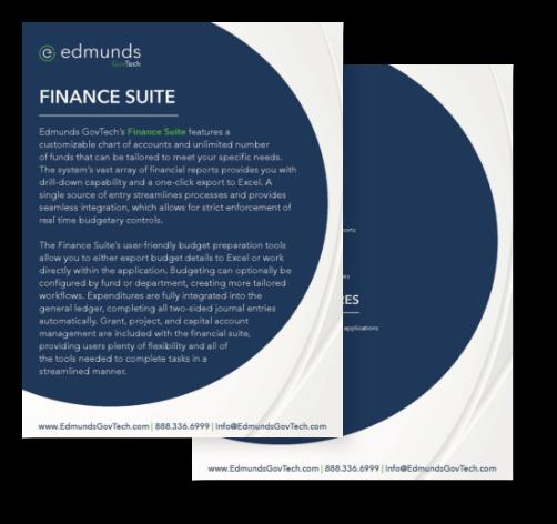 finance product sheet