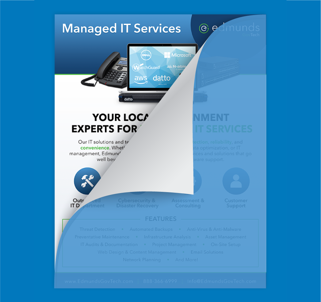 managed IT services sheet
