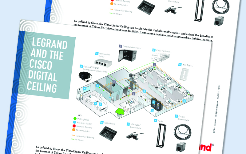 Legrand and the Cisco Digital Ceiling