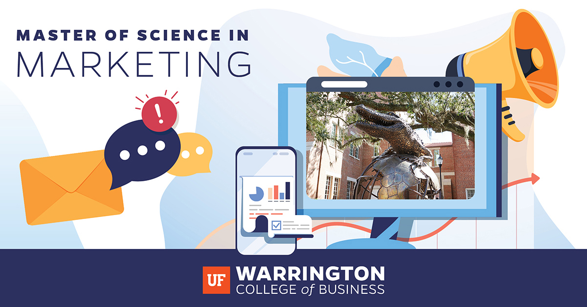 Master of Science in Marketing: Graphic image