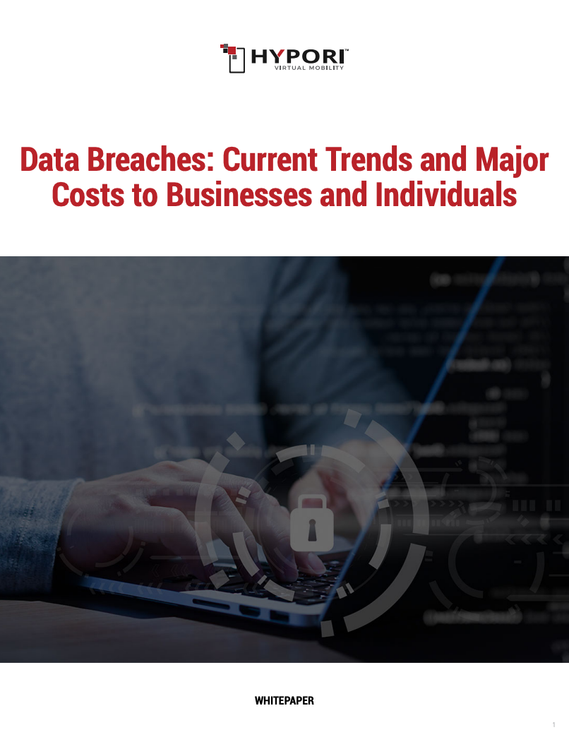 Cover of Data Breach Trends whitepaper