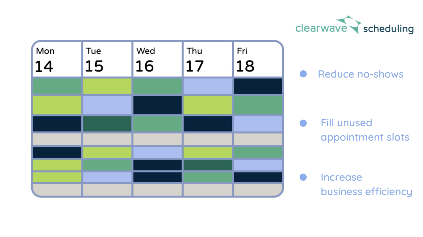 Check out Clearwave Scheduling!