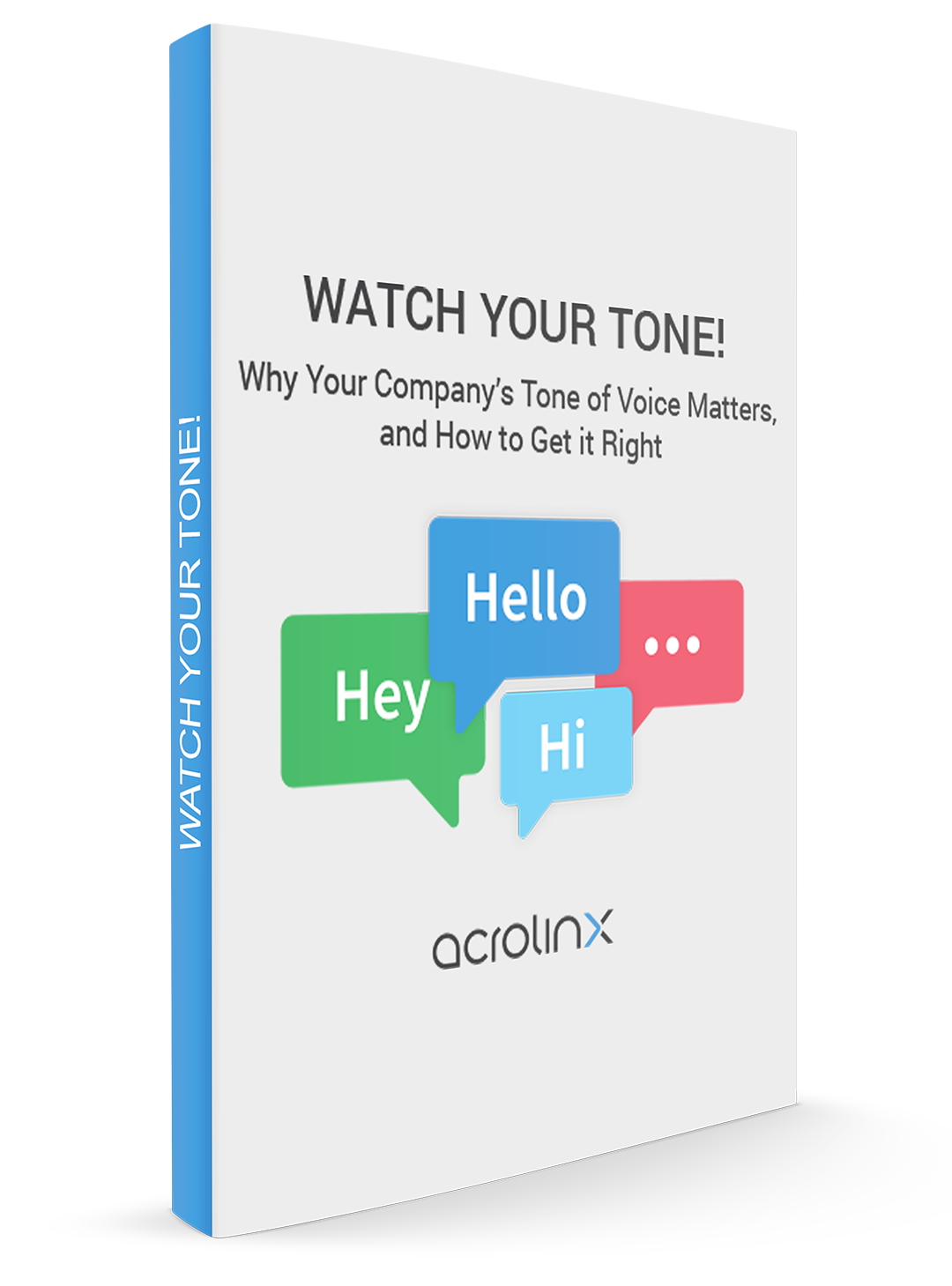 Watch Your Tone of Voice eBook
