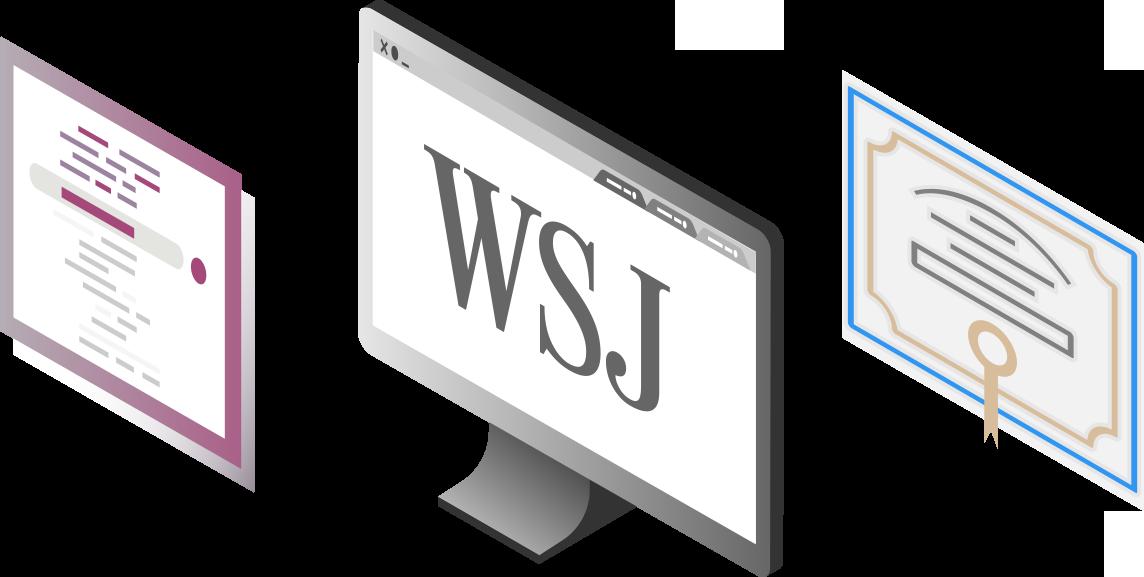 WSJ Student Membership Site License program