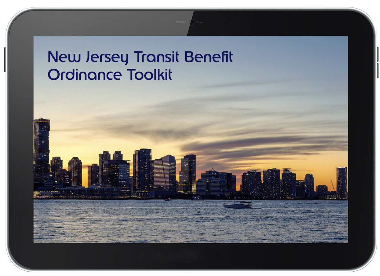 New Jersey Toolkit on Tablet