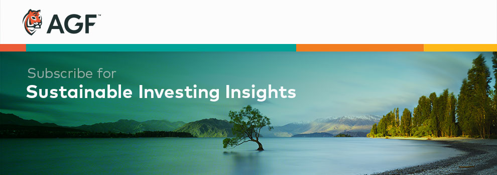 Subscribe for Sustainable Investing Insights
