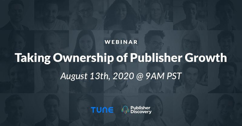 Taking Ownership of Publisher Growth