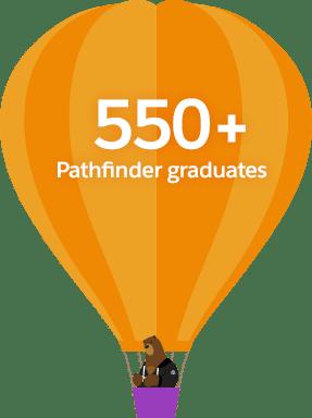 550+ Pathfinder graduates
