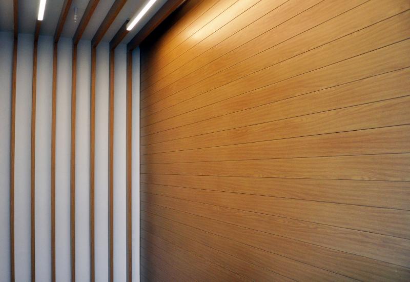 wood grain aluminum siding cladding avadek