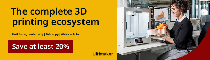 Ultimaker 10 Year Anniversary Value Pack Promotion