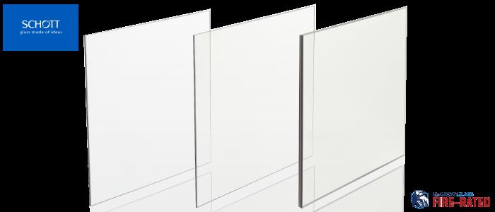 Schott® Pyran® Platinum Fire-rated Glass Ceramic by McGrory
