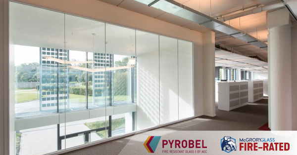 AGC Pyrobel® Fire-resistant Safety Glass by McGrory