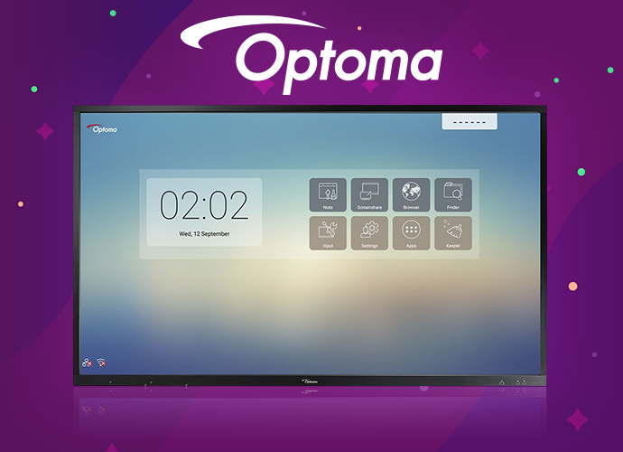"""Optoma Creative Touch 75"""" LED Touchscreen Monitor"""