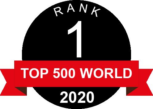Rank 1 TOP 500 World 2018