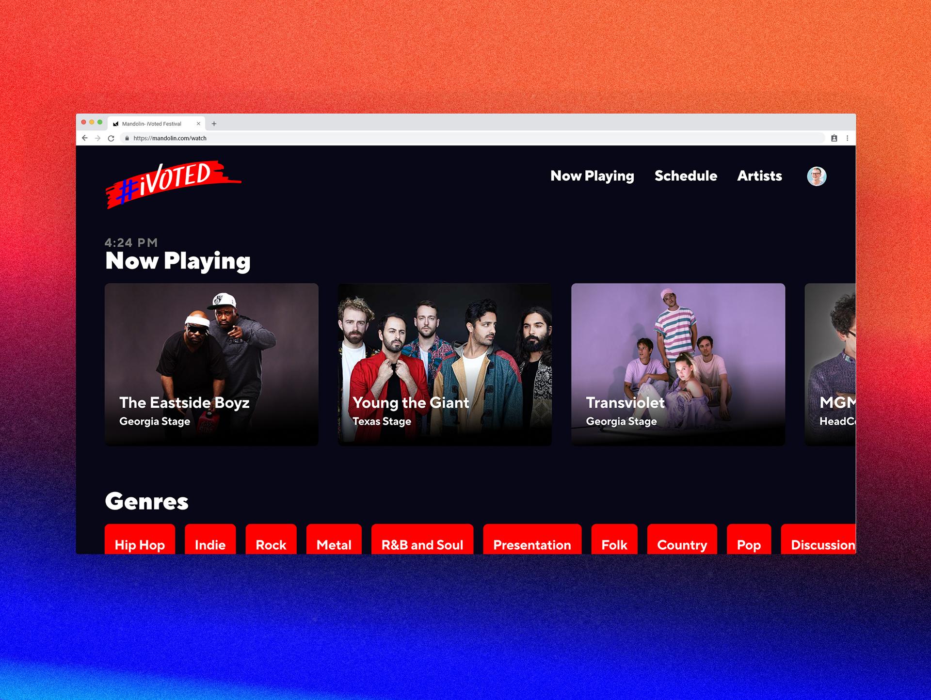 Festival Grid: Festivals Go Digital With Mandolin