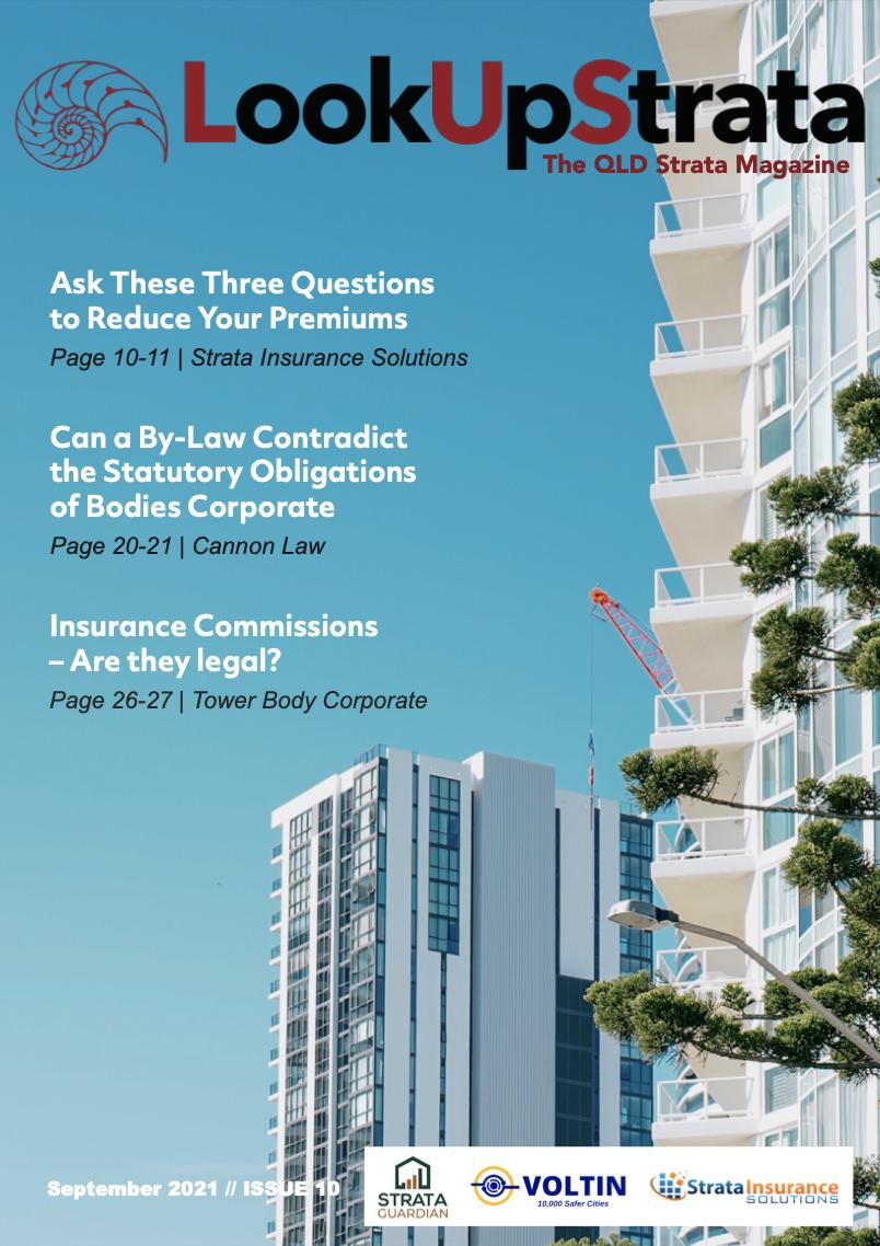 The QLD Strata Magazine   September 2021
