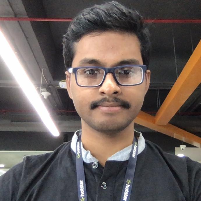 Balakrishnan Kaliyamoorthy, Senior Data Engineer, Disney+ Hotstar