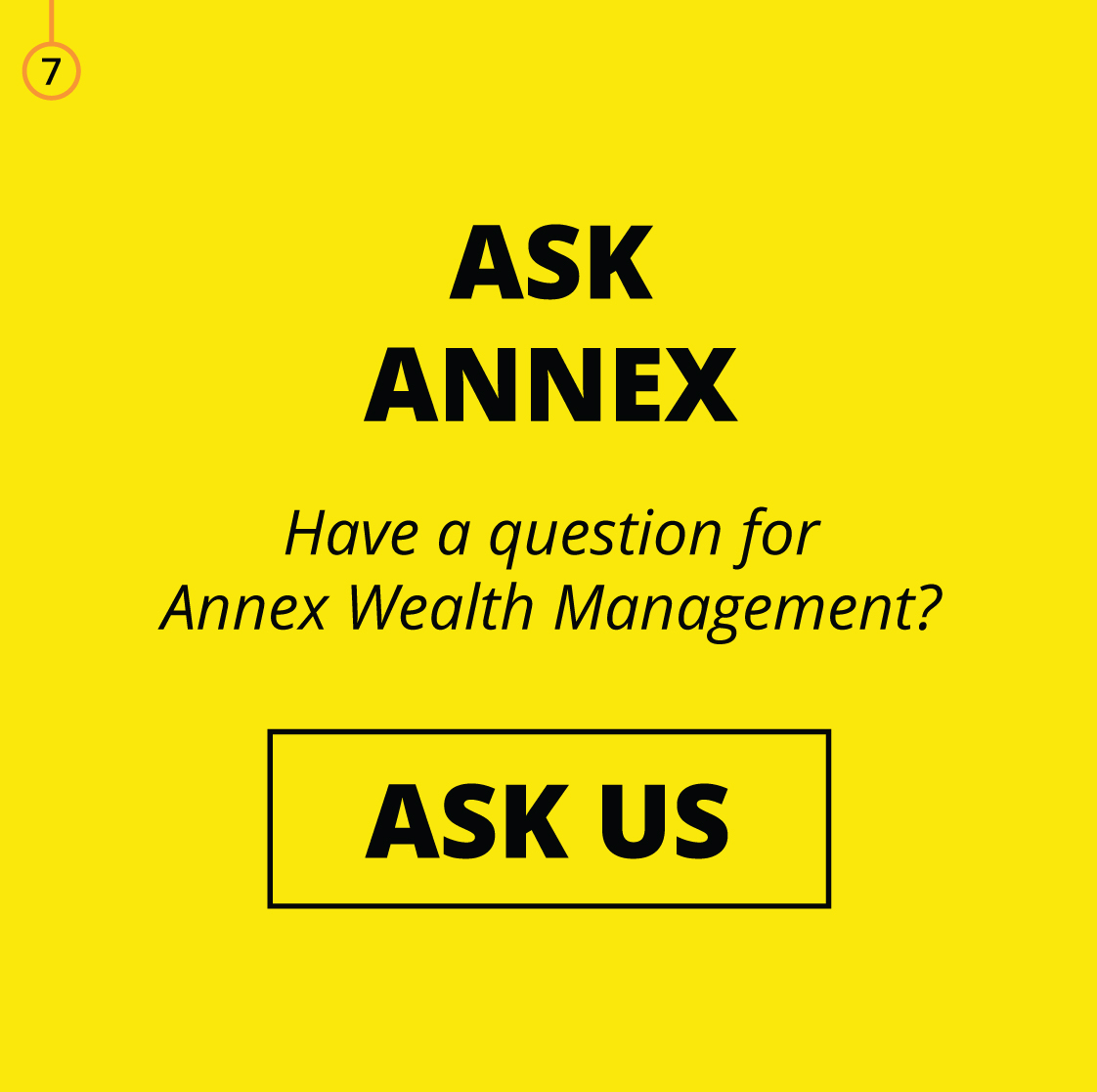 ASK ANNEX: Have A Question For Annex Wealth Management?