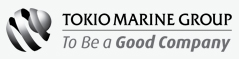 Tokio Marine Group | To Be a Good Company Logo