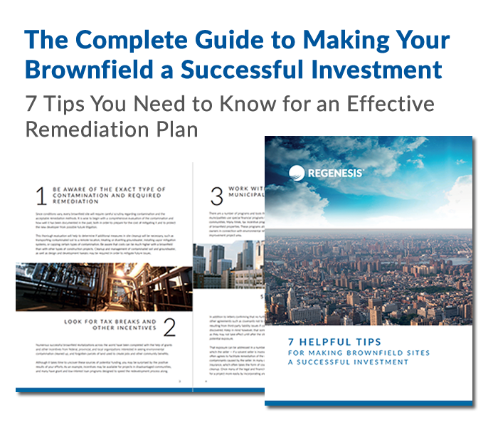 eBook on Strategies for Success at Brownfield sites